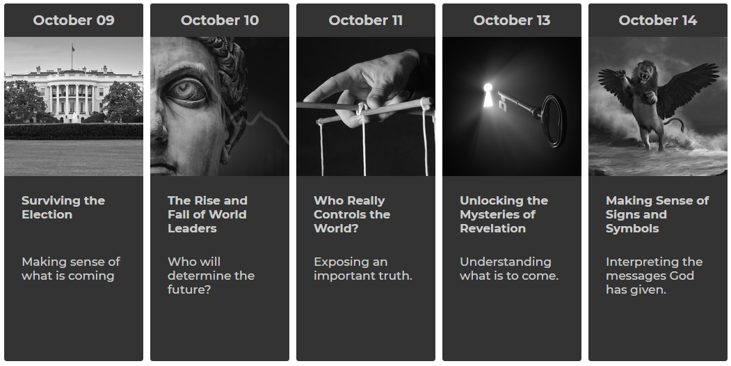 IIW - Answers In Prophecy Oct 9-14