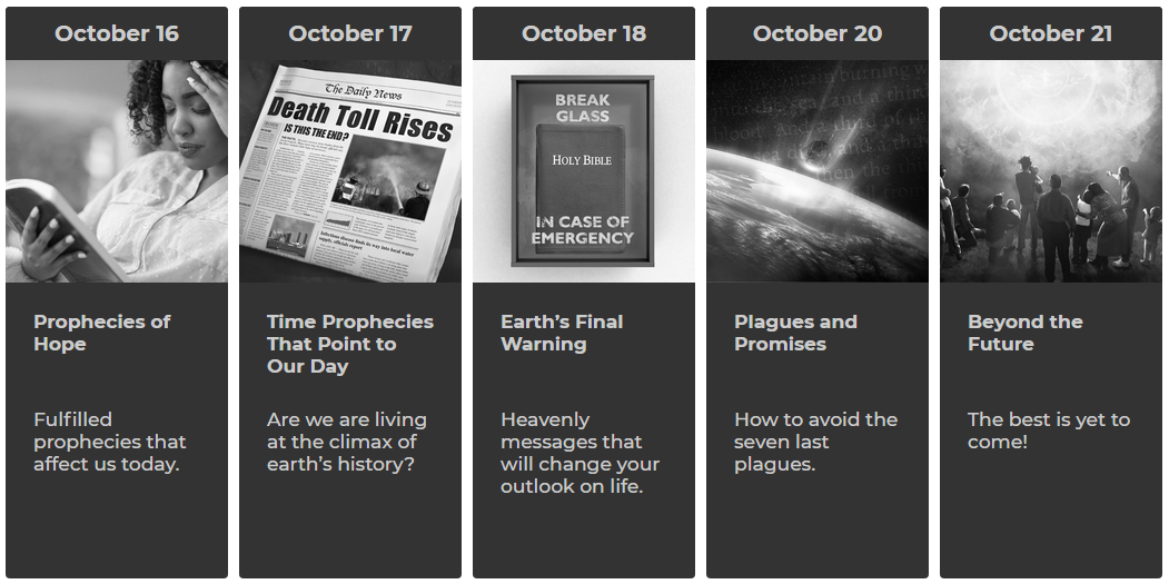 IIW - Answers In Prophecy Oct 16-21